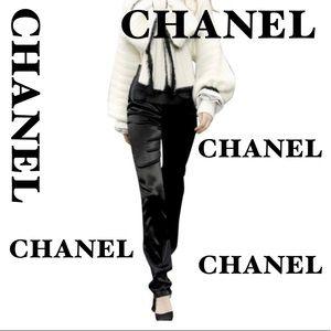 Ladies Chanel Silk Pants